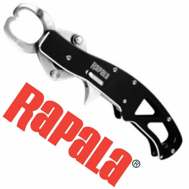 "Rapala Aluma-Pro 9"" Fish Lip Grips Gripper Anodized Aluminum Body"