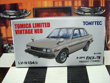 TOMICA LV-N134 TOYOTA COROLLA 1600GT NEW IN BOX LIMITED VINTAGE NEO SERIES