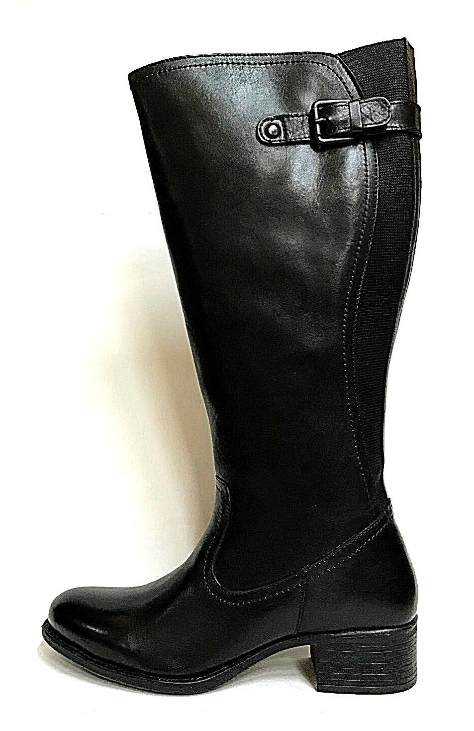 zapatos mujer PREGUNTA zapatos botas 5351 negro 100% PELLE INVERNO SCONTO 50%