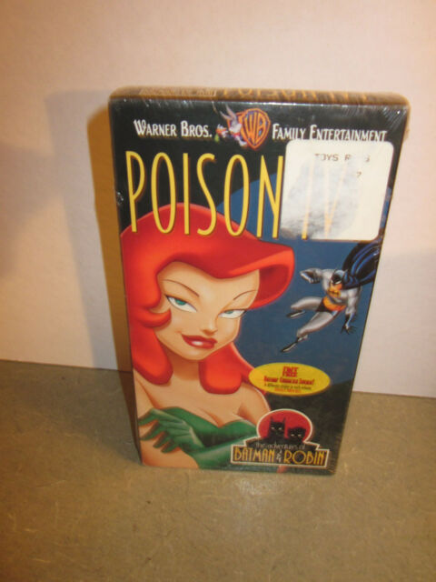 The Adventures of Batman  Robin - Poison Ivy (VHS, 1997)  NEW OLD STOCK