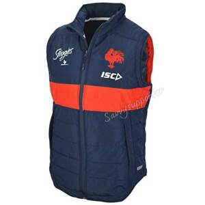 Sydney-Roosters-2019-NRL-Mens-Padded-Vest-Sizes-S-3XL-BNWT