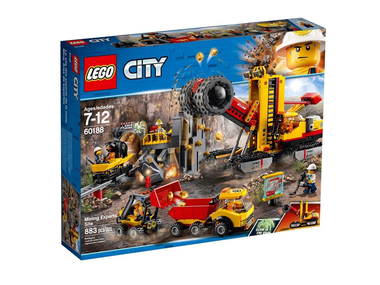 Lego City 60188 Bergbauprofis à la Abbaustätte Neuf Emballage D'Origine Misb