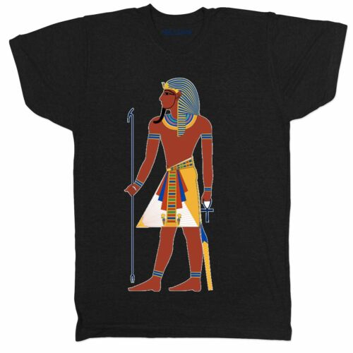 Faraón Egipto Templo Egipcio Tumba Anubis pyrmid símbolos Tutankhamun T Shirt
