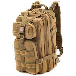 US-Army-Assault-Pack-Rucksack-26-Liter-Kampftasche-Einsatzrucksack-Coyote