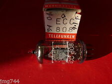 ECC808 TELEFUNKEN <> NEW OLD STOCK  VALVE TUBE  J15