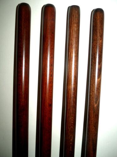 """En bois marron arbres pour stickmaking Hêtre Bois Cannes Shanks//Blanc 33/"""""""