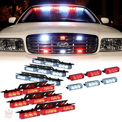 Fire Fighter Lights Federal Signal Led Emergency Vehicle Headlight Strobe Light 689532514416 Ebay