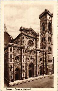 CPA FIRENZE Duomo e Campanile. ITALY (501905) K7g08SJD-09155354-720908423