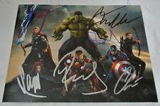 THE AVENGERS Movie Cast Signed AUTOGRAPHED Photograph Chris Hemsworth Evans +
