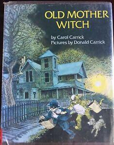 Old-Mother-Witch-Halloween-Carol-Carrick-1975-HC-DJ