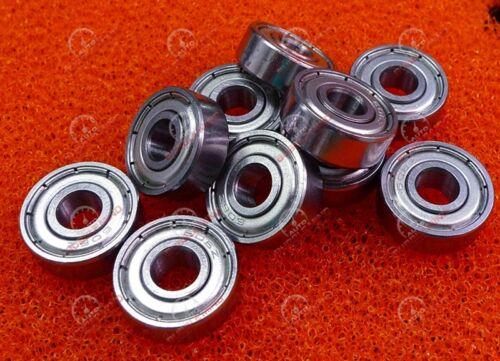 10 PCS - 606ZZ (6x17x6 mm) Metal Double Shielded Ball Bearing Bearings 6*17*6