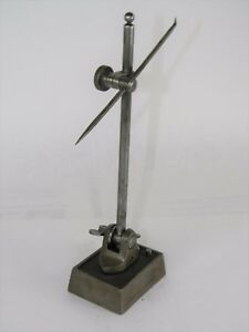 VERY-EARLY-MARKED-STARRETT-55-SURFACE-GAUGE-GAGE-TYPE-ONE-9-034-TALL-INV-T2850