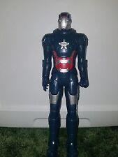 "Hasbro Blue Iron Man 3 Avengers 12"" Large Action Figure Toy 2013 Marvel Comics"