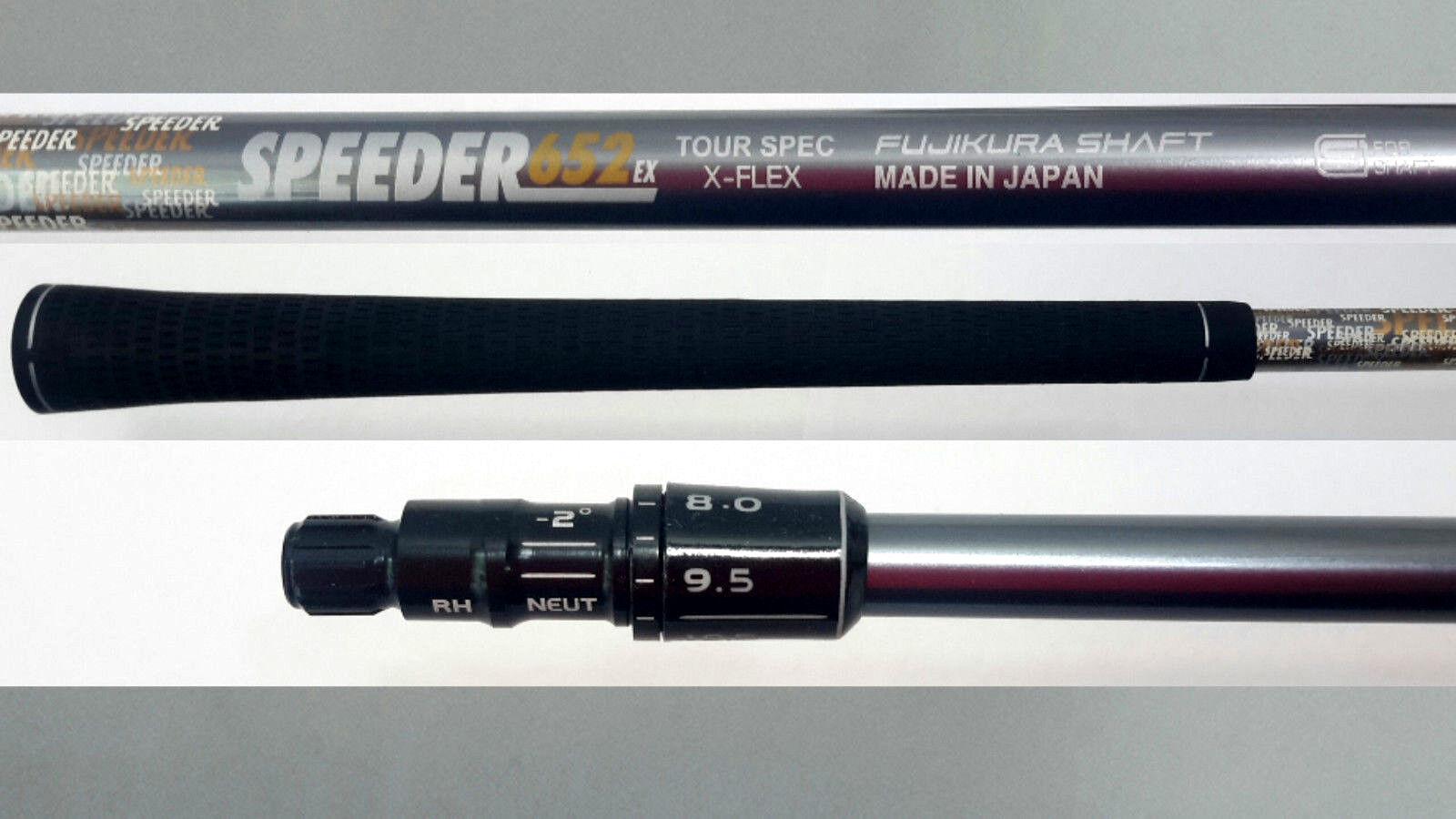 Fujikura Driver Taylormade Speeder X Rígido Eje + Punta M1, M2, M3, M4, R1, R15, hechos a medida SLDR