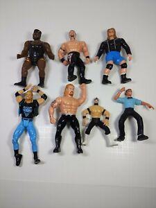 BRAND NEW NWA TITLE BELT WRESTLING FIGURES MATTEL TOYBIZ JAKKS LOT WWE WWF WCW