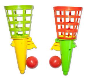 Spielzeug & Modellbau (Posten) Fangballspiele Fangballspiel Fangbecher 18 cm Geschicklichkeitsspiel Becher