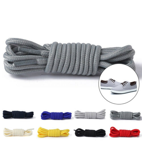 Boots Shoe Laces Shoelaces Round Rope Mountaineer Wear Resistant Hiking Unisex