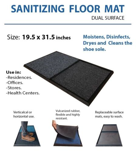 FLOORMAT Disinfecting Door Mat Sanitizing  For Home Office Hotel Co vid  barrier