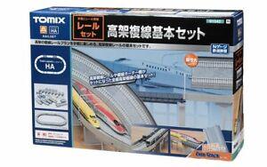 Tomix 91042 Fine Track erhöhte zweigleisiger Basic Set (Schiene Muster HA) N Scale