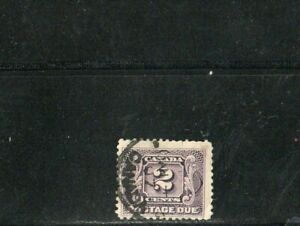 LIQUIDATION - CANADA USED - SCOTT # J2 -  POSTAGE DUE 1906/28