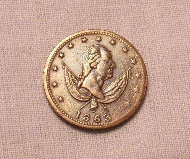 1863 Washington Exchange Civil War Token.......Lot #7633