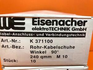 -  100 Stück gelb #128 2,5-6 qmm ISO Quetsch Stiftkabelschuh