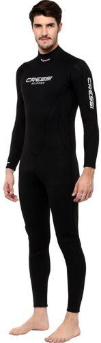 Cressi Summer Néoprène Wetsuit Homme 2.5mm Pêche Apnée snorkeling zip arrière