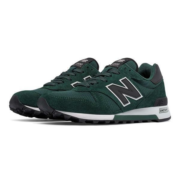 NEW BALANCE USA CLASSIC HERITAGE 1300 M1300CAG GREEN/BLACK/GREY - SUEDE/MESH