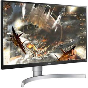 LG 27UL650-W Ultra HD Monitor 27 Zoll 4K Panel IPS 3840x2160 5ms weiß D58139