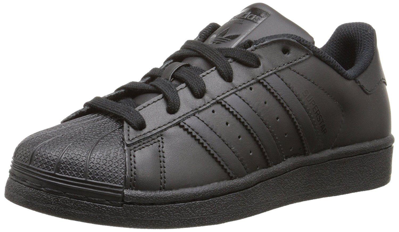 Adidas Big Kids Superstar Skateschuh Schwarz / Schwarz / Schwarz B25724
