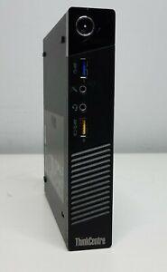 Lenovo ThinkCentre M73 Tiny Desktop Core i5-4570T 2.90GHz 8GB RAM No Power/HDD