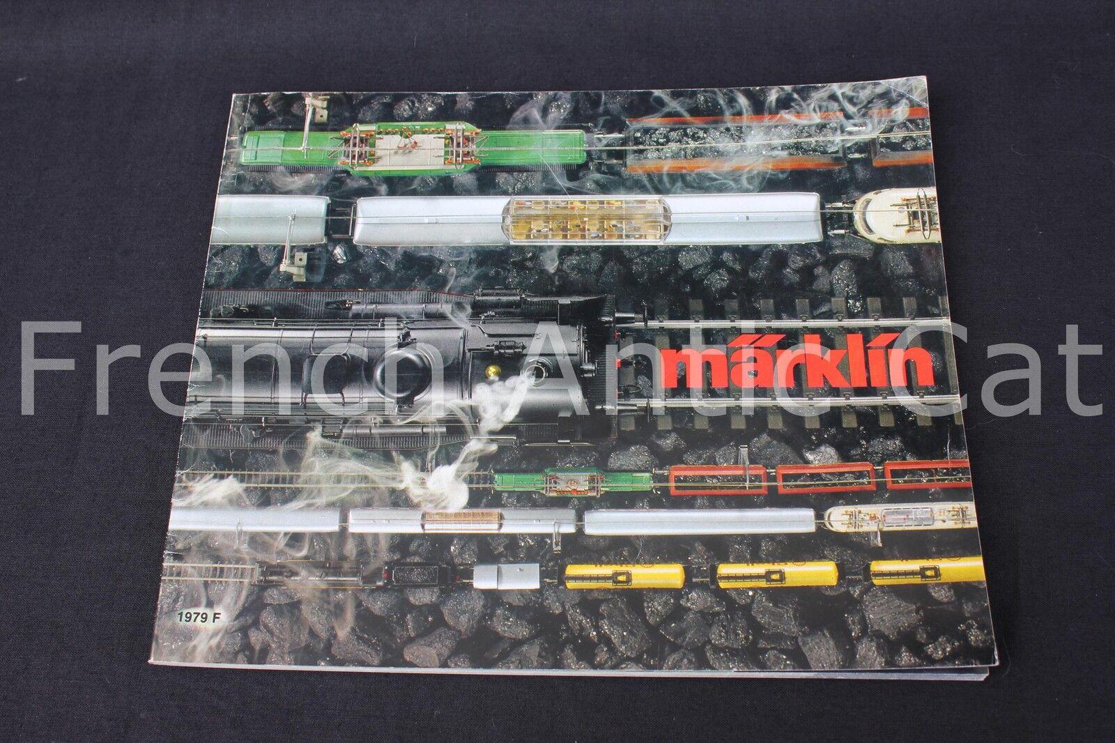 P665 Rare catalogue train MARKLIN 1979 F neuf  138 pg