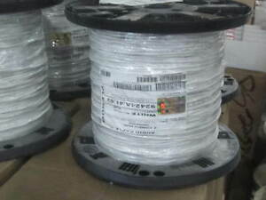 Liberty Wire & Cable, 16-2C-P-WHT, commercial 16/2, CMP White, 1000 ...