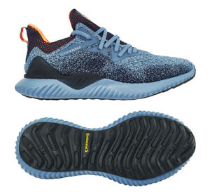 80c8c13bfb105 adidas Men s AlphaBOUNCE Beyond Running Shoes Blue Walking Casual ...