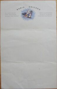 Popeye-w-Microphone-1940s-039-Radio-Chicago-039-Letterhead-School