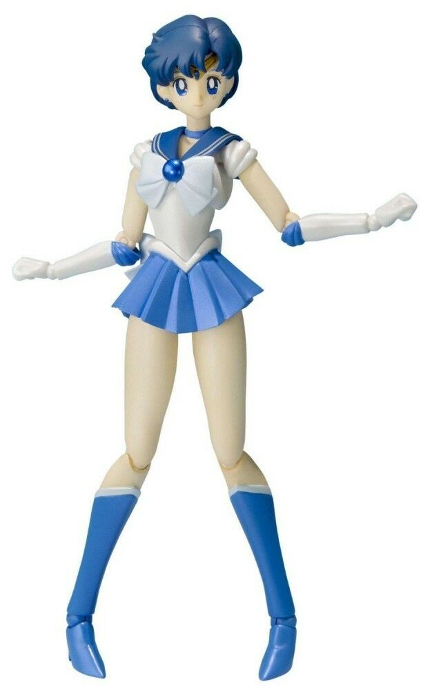 S.H.Figuarts S.H.Figuarts S.H.Figuarts Sailor Moon Sailor Mercury Action TAMASHII NATIONS JAPAN F S J6065 be8d78