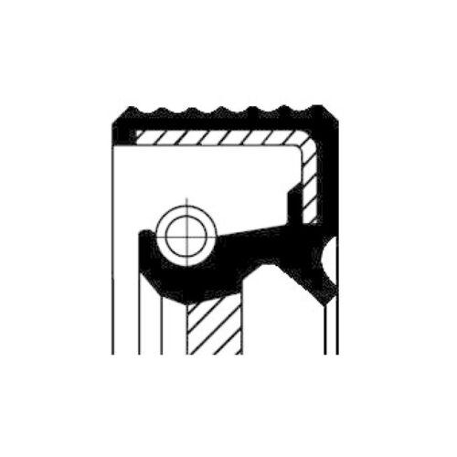 cajas de cambio entrada Corteco olas anillo obturador