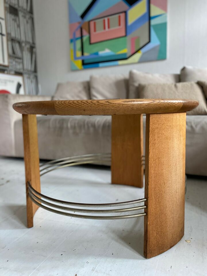Glasbord, Snedkermester, egetræ