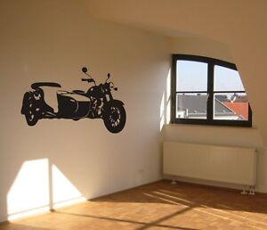 wandtattoo dnepr ural m70 motorrad wall art. Black Bedroom Furniture Sets. Home Design Ideas
