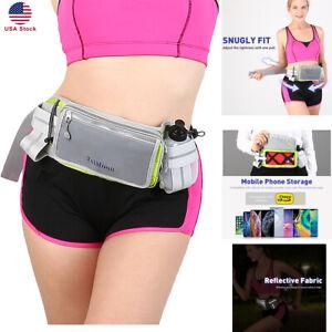 Sports-Running-Belt-Waist-Pack-Waist-Bag-Adjustable-With-Water-Bottle-Hold