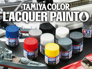 Tamiya-Lacquer-Paint-Gloss-82101-82180-LP-1-to-LP-80-10ml-multiple-choice