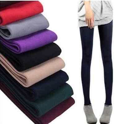 Sexy Warm Womens Winter Skinny Slim Leggings Stretch Pants Thick Footless Tights