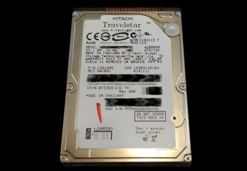 HP DesignJet 800//800PS Hard Drive for C7779-69272 Formatter **Fix 05:10 Error**