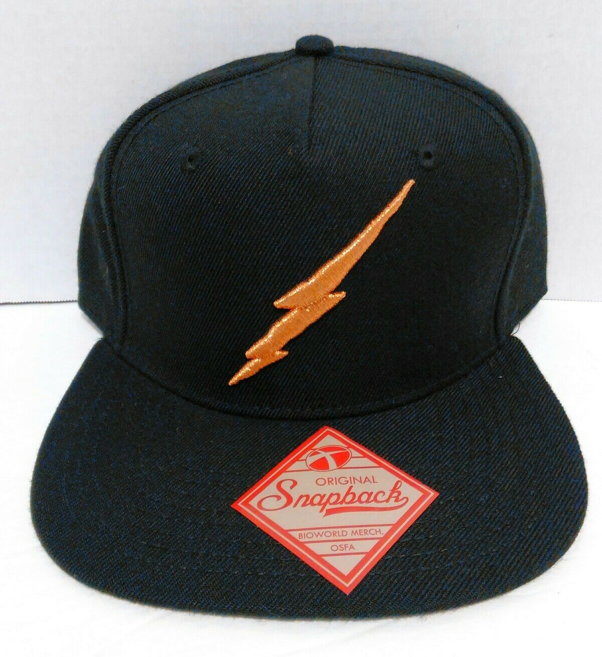 Harry Harry Harry Potter Lightning Bolt Original Snapback Hat Cap Bioworld WB NWT d7c011