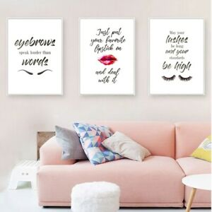 Lipstick Wall Art Posters