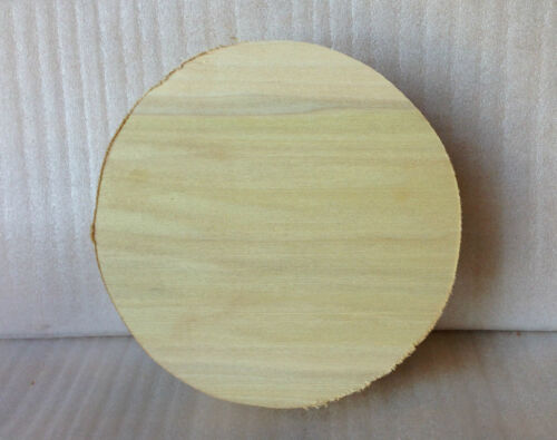 Woodturning Hardwood Wood Turning Timber American Tulipwood Bowl Blank 50mm