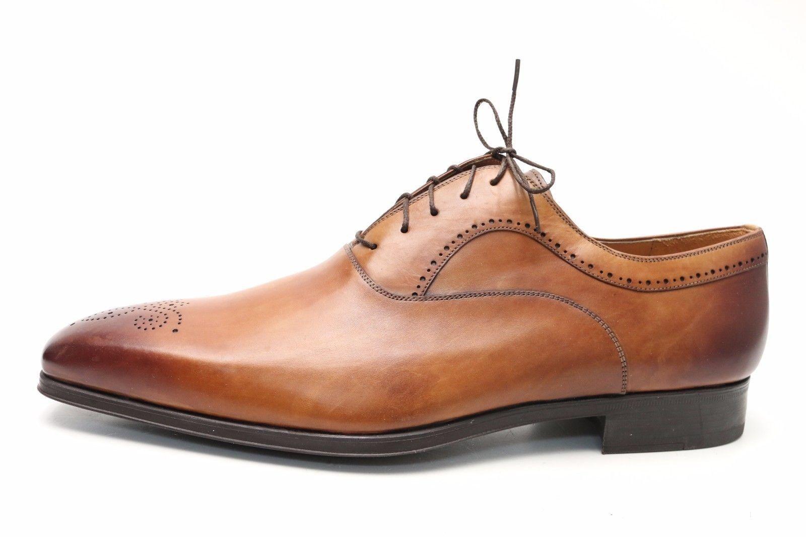 Pelle di pelle Marroneee, di Magnuanni, da  uomo, scarpe da vestito.15 M  vendita di offerte
