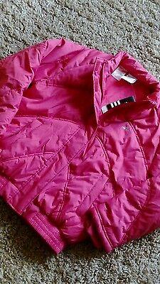 Adidas Donna/ragazze Giacca Da Palestra Nuovo Rosa Taglia 32/34 Caldo Impermeabile Scuola Cappotto-mostra Il Titolo Originale Piacevole Nel Dopo-Gusto