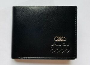 Audi-Men-s-Leather-Wallet-perfect-gift-Idea-UK-Seller