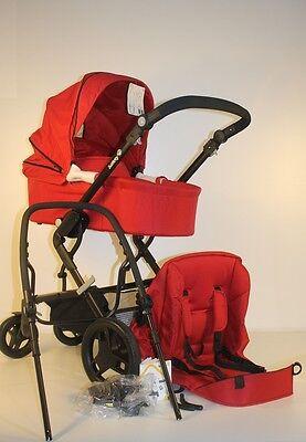 Safety 1st Kokoon Comfort 2-in-1 Kombikinderwagen-Set, full red